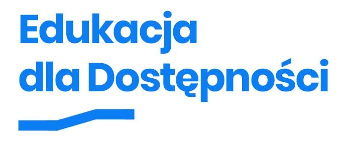 Logotyp Edukacja dla Dostępności