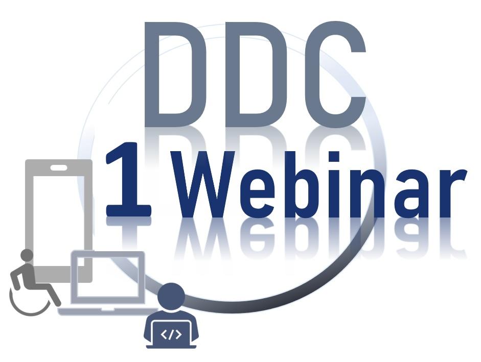 Piktogram DDC 1 Webinar