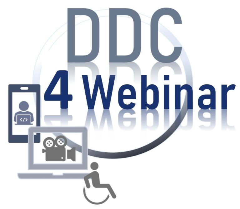 Piktogram DDC 4 Webinar