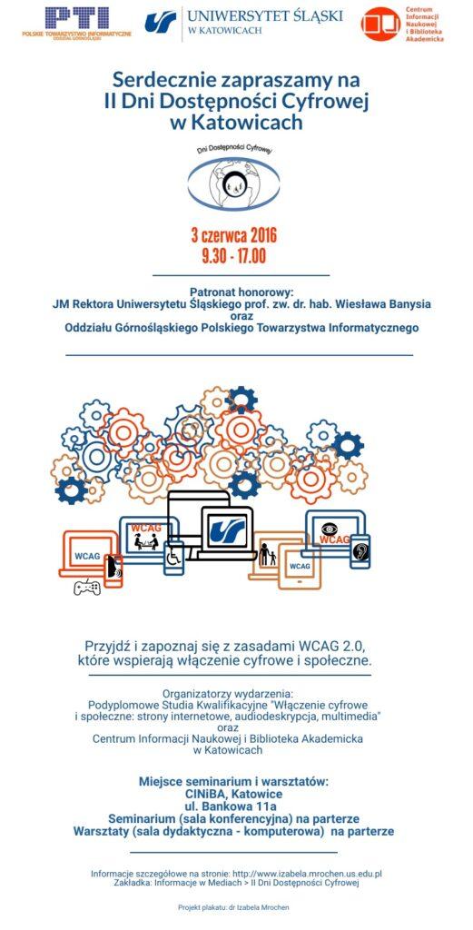 Zaproszenie na Dni Dostępności Cyfrowej w 2016 roku