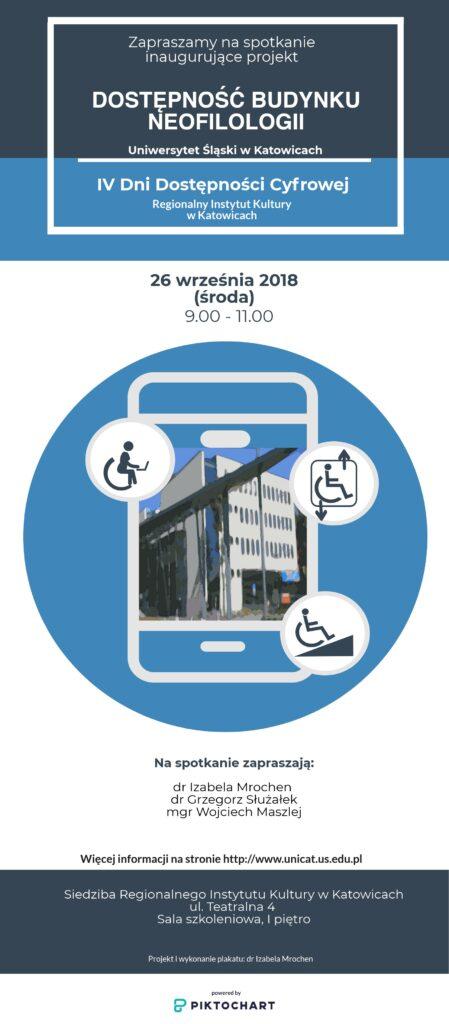 Zaproszenie na Dni Dostępności Cyfrowej z 2018 roku